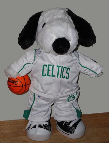 Celtics Beagle warmups