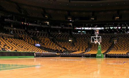 empty Boston Garden