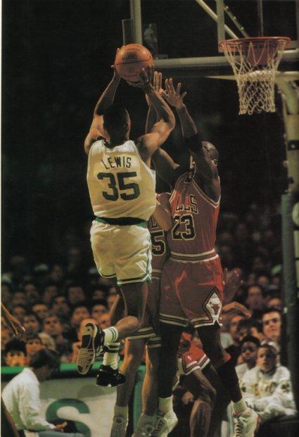 Reggie goes up against Jordan